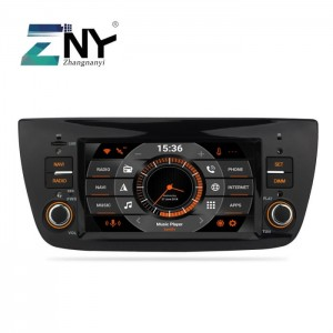 "Fiat Doblo 2010-2015    RC AUDIO M533  Ekran 6,2"" Android 9.0  Ekran GPS Navi WiFi 4GB RAM 32GB FLASH DAB+"