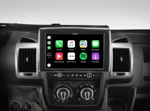 Fiat Ducato 3/Citroen Jumper 2/Peugeot Boxer 2  ALPINE X903D-DU  Stacja multimedialna Apple CarPlay Android Auto Ekran 9""
