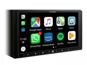 ALPINE iLX-W650BT  Stacja multimedialna Apple CarPlay Android Auto Ekran 7""