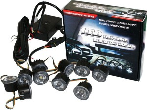 DRL Daylight 7500k Model L3 5 Led