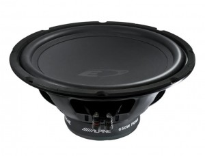ALPINE SWE-1044E Subwoofer 25cm Free-air