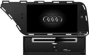 Audi A4 B8 2007+ ACS-8310W  Android 8 CPU 8x1.5GHz Ram 2GHz Dysk 32GB Ekran HD MultiTouch OBD2 DVR DVBT BT Kam DVD