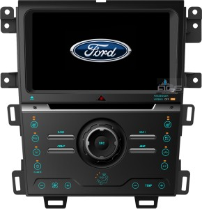 Ford Edge 2013+  ACS-8229W   Android 8 CPU 8x1.5GHz Ram 2GHz Dysk 32GB Ekran HD MultiTouch OBD2 DVR DVBT BT Kam DVD