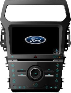 Ford Explorer 2011+  ACS-8227W  Android 8 CPU 8x1.5GHz Ram 2GHz Dysk 32GB Ekran HD MultiTouch OBD2 DVR DVBT BT Kam DVD