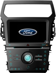 Ford Explorer 2011+  ACS-8254W   Android 8 CPU 8x1.5GHz Ram 2GHz Dysk 32GB Ekran HD MultiTouch OBD2 DVR DVBT BT Kam DVD