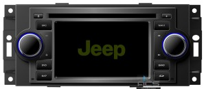 Jeep Commander Compass Grand Cherokee Patriot  ACS-8206JW  Android 8 CPU 8x1.5GHz Ram 2GHz Dysk 32GB Ekran HD MultiTouch OBD2 DVR DVBT BT Kam DVD