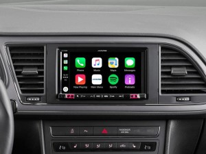 ALPINE iLX-702LEON Stacja multimedialna dla Seat Leon Android Auto Apple CarPlay Ekran 7""
