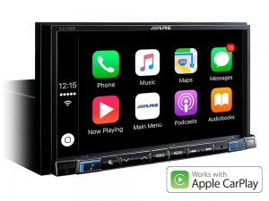 "ALPINE iLX-702D Ekran 7"", 1 DIN, Apple CarPlay, Android Auto"