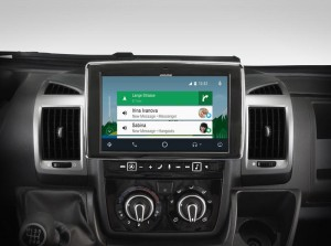 "Fiat Ducato 3/Citroen Jumper 2/Peugeot Boxer 2 Alpine i902D-DU  Ekran 9"" Android Auto Apple CarPlay"